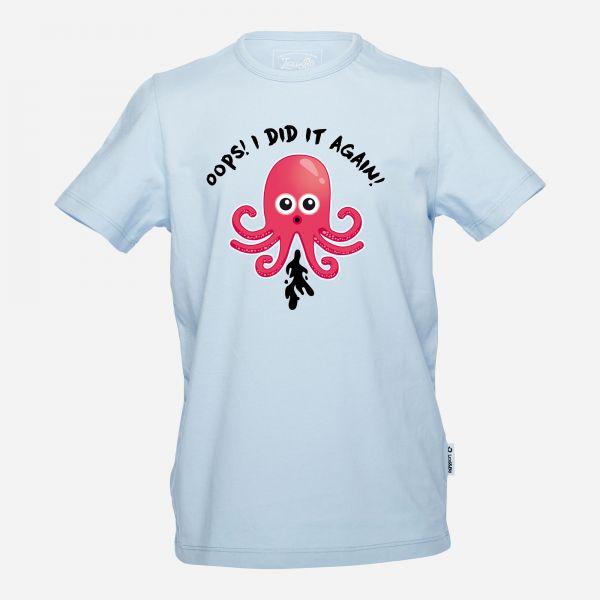 Octopus Fart Jungen T-Shirt