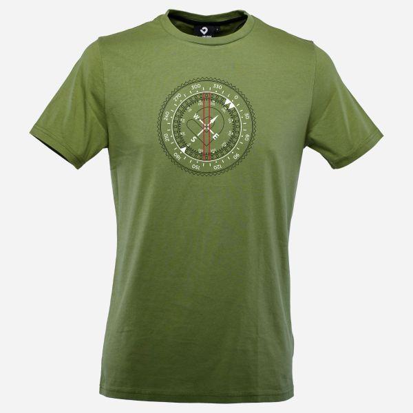 Find your path Men T-Shirt in army-grün - Vorderansicht