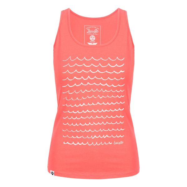 Ocean waves Tank Top Damen