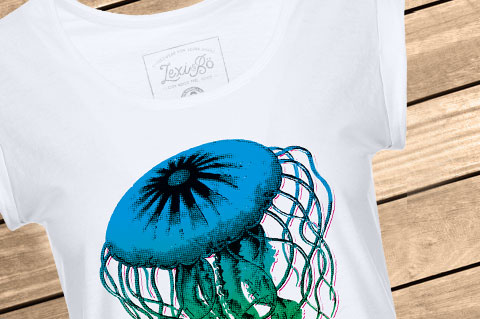 Lexi-Bo-T-Shirt-Design-Style-Fat_Jelly-Green-Women-white