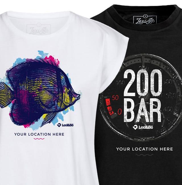 Dein individuelles Lexi&Bö Shirt jetzt leicht und schnell erstellen.