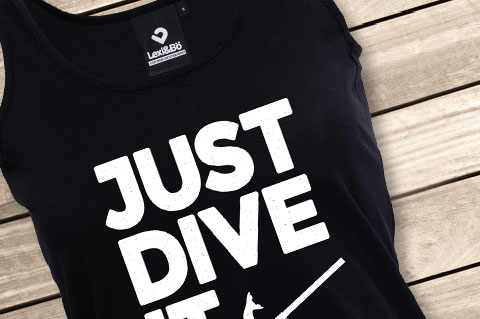 Lexi-Bo-T-Shirt-Design-Style-Just-Dive-It-Womne-Tank
