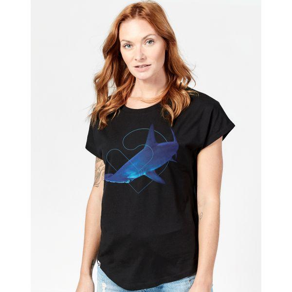 Hammerhead Oversized T-Shirt Damen