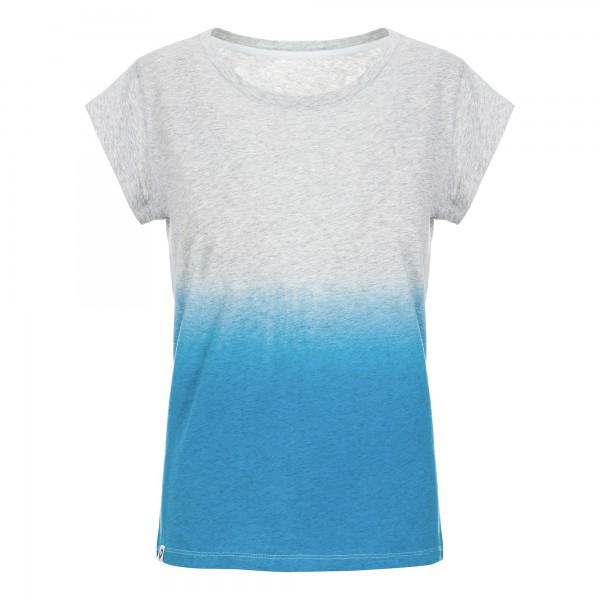 Women Basic T-Shirt Dip Dye