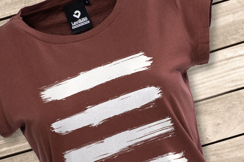 Lexi-Bo-T-Shirt-Design-Style-Stripes-Red-women