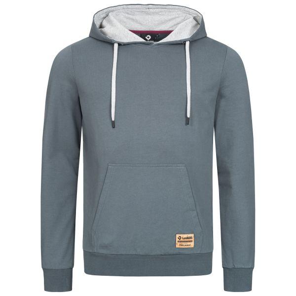 Herren Basic Hoodie – Kapuzenpullover in unterschiedlichen Farben aus 100 % Bio-Baumwolle