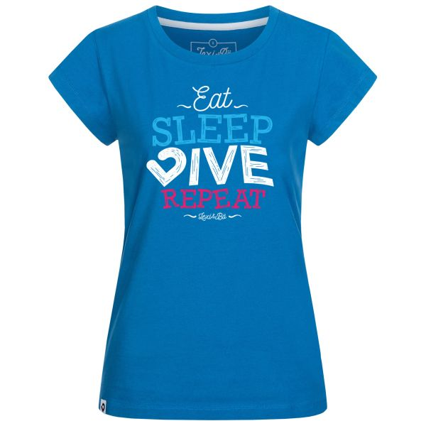 Eat. Sleep. Dive. Repeat. T-Shirt Damen