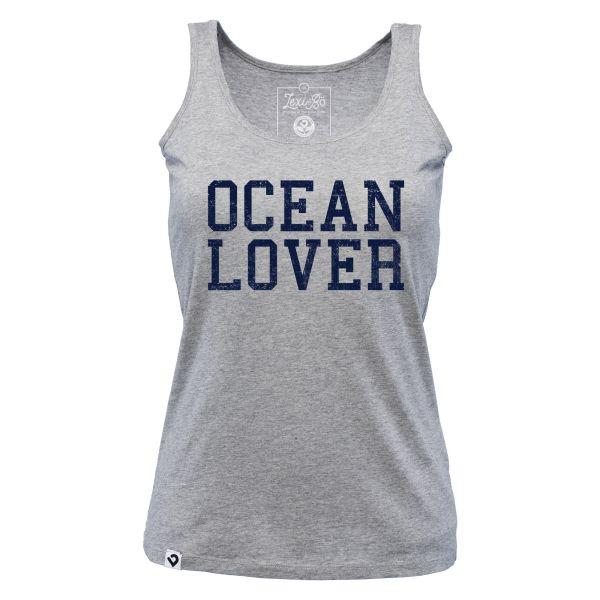 Ocean lover women's tank top