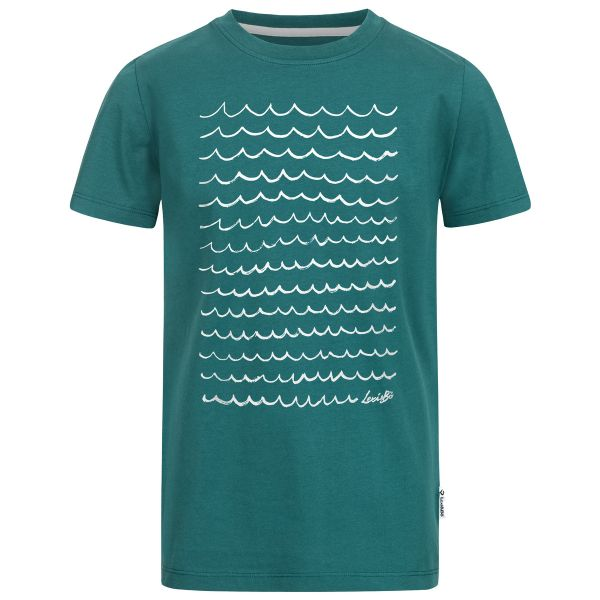 Ocean waves Jungen T-Shirt