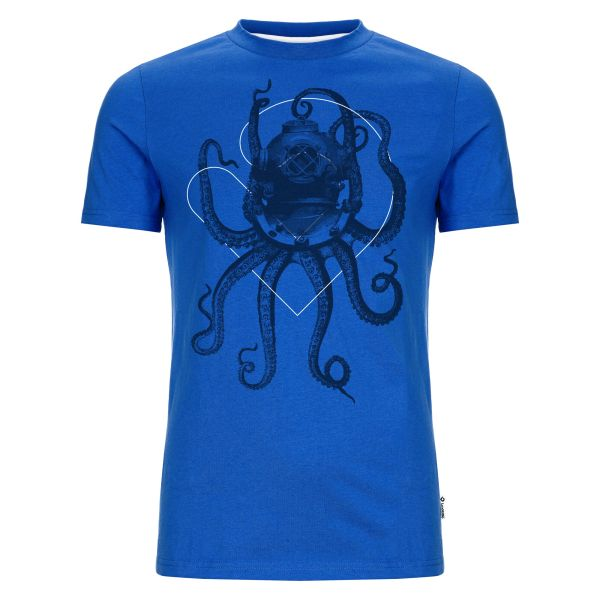 Nautical Octopus T-Shirt Herren