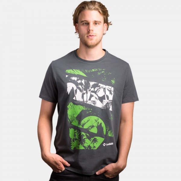 At the beach T-Shirt Herren acid green