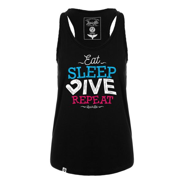 Eat.sleep.dive.repeat. 2.0 women's tank top