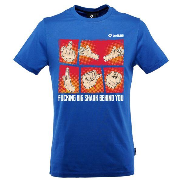 Fucking Big Shark Behind You Aktions-T-Shirt