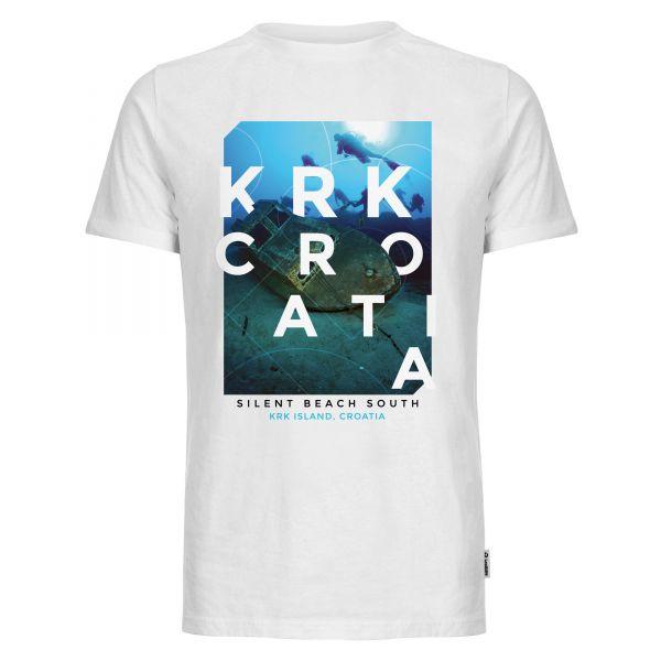 Wreck diver photo T-shirt men