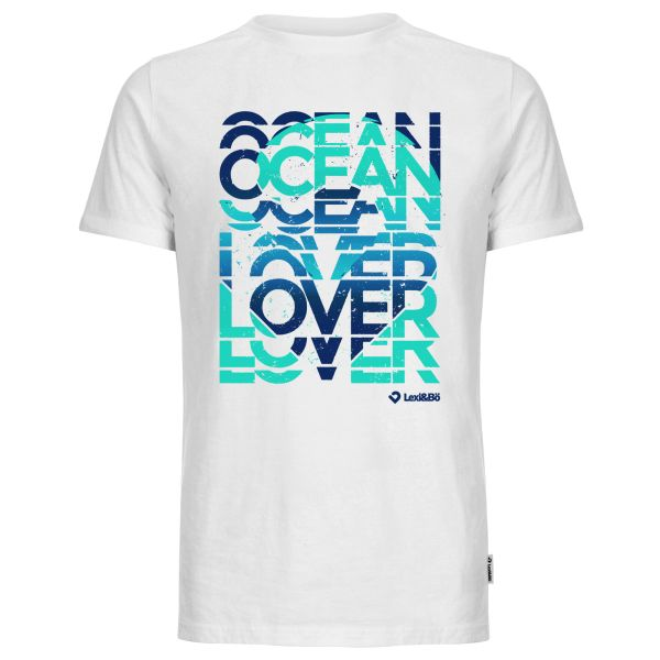 Ocean lover blue t-shirt men