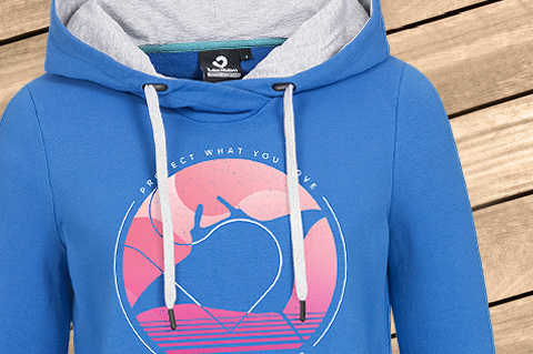 ProtectWhatYouLoveB_Women_Hoodie_Pantone18-4051TCX_StrongBlue_WoodBG