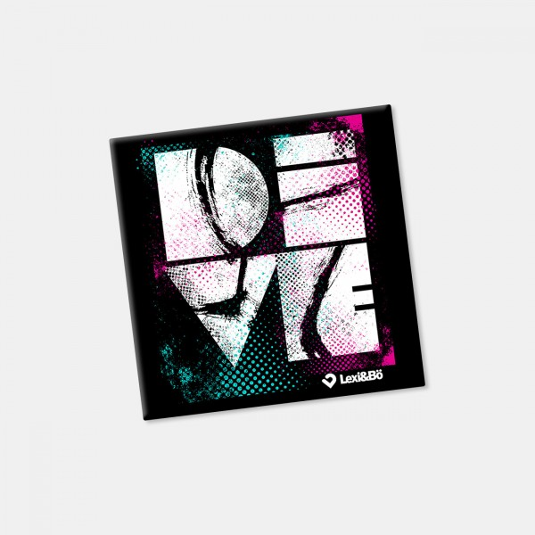 DIVE Fridge Magnet Black