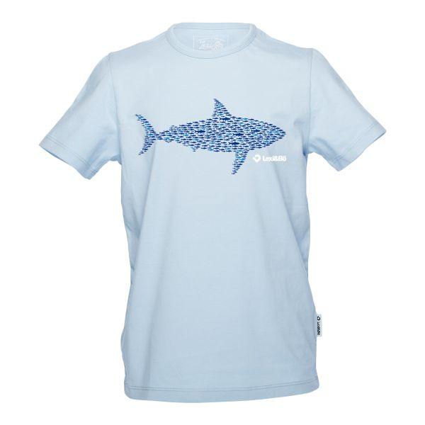 Smart Sardines Jungen T-Shirt in der Farbe blue bell - Vorderansicht