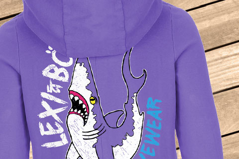 Sharky01_Womens_Hoodie_Ultraviolet02_WoodBGDdtzIxSfvnyrz