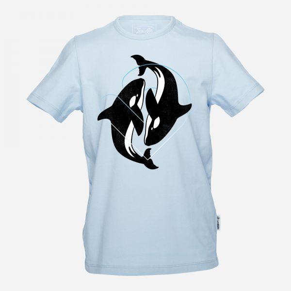 Dancing Orcas Jungen T-Shirt