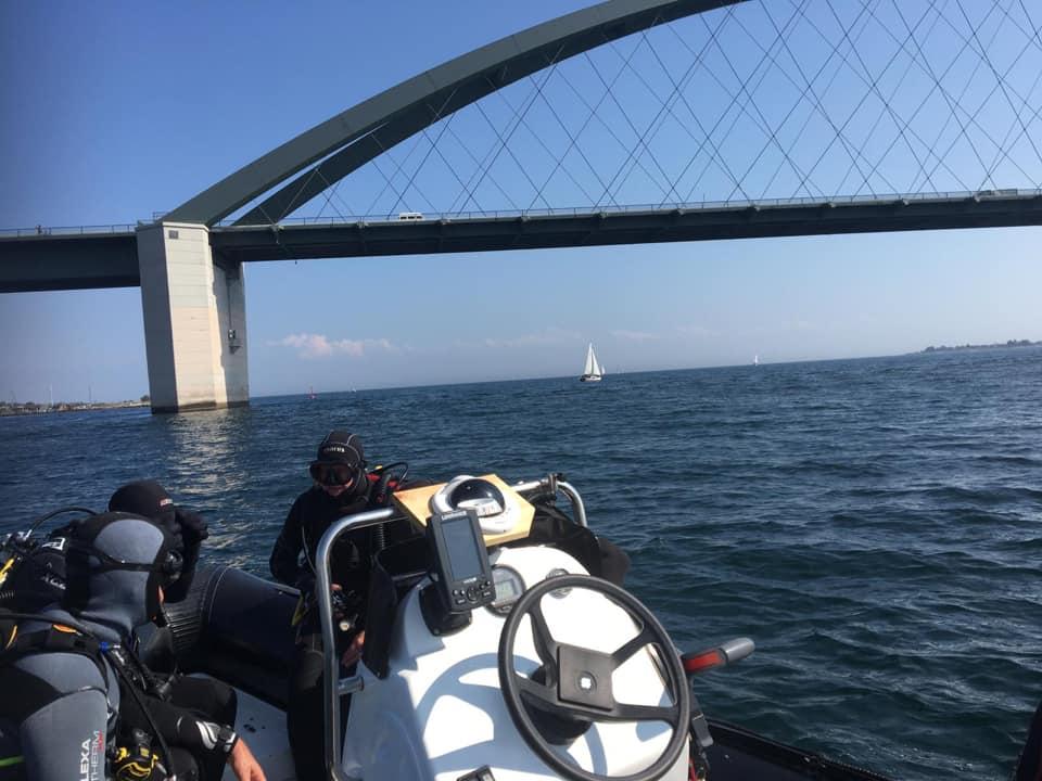 Fehmarn Sund Brücke Drift bei Tauchen Südstrand - Martina + Michael Wandrei