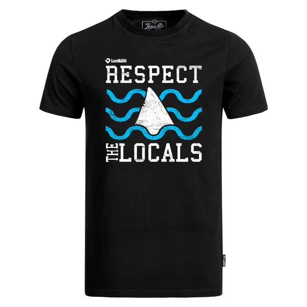 Respect the locals men's t-shirt