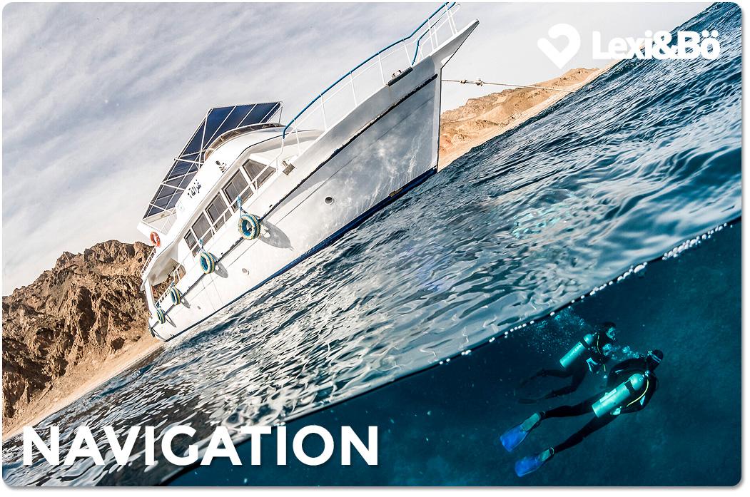 Tauchschein Orientierung beim Tauchen – Navigation