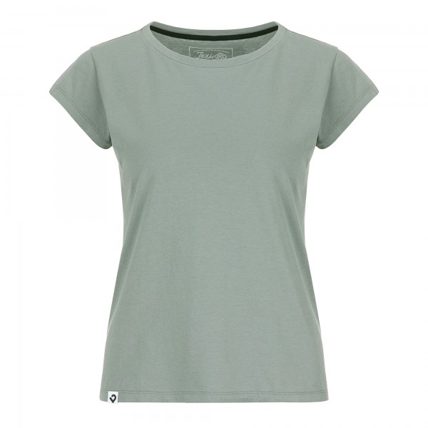 Damen Basic T-Shirt Unicolor