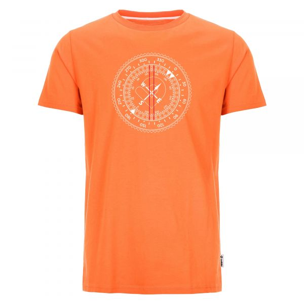 Comfortable Lexi&Bö T-Shirt with large compass front print