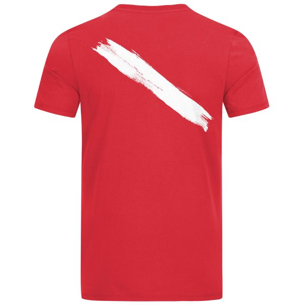 Scuba Flag men's Pocket T-Shirt