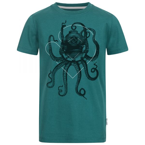 Nautical Octopus T-Shirt Jungen