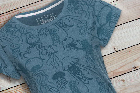 Jellyfish_T-Shirt_Women_Blue_Melange_wood-pic