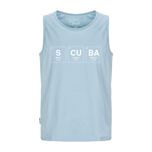 SCUBA Periodic Table Tank Top Men