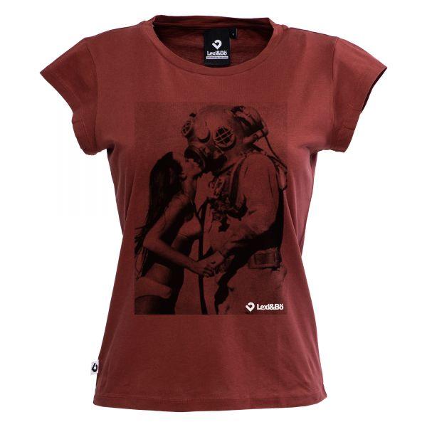 Vintage Diver Women T-shirt