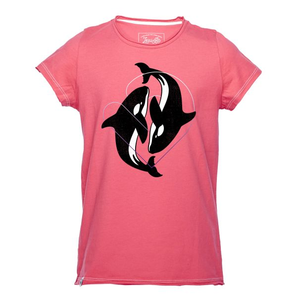 Dancing Orcas Girls T-Shirt
