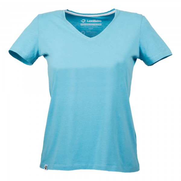 Damen Basic V-Neck