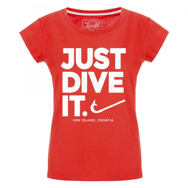 Just Dive It. Damen T-Shirt