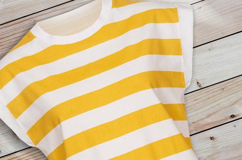 Yellow_Stripes_Summer_Shirt_Women_wood-pic