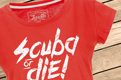 Lexi-Bo-T-Shirt-Design-Style-Scuba_Or_die_FieryRed-women