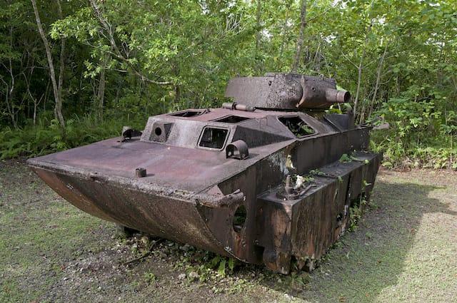 Panzerwrack - Palau