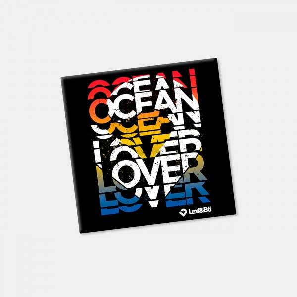 Ocean lover Kühlschrankmagnet
