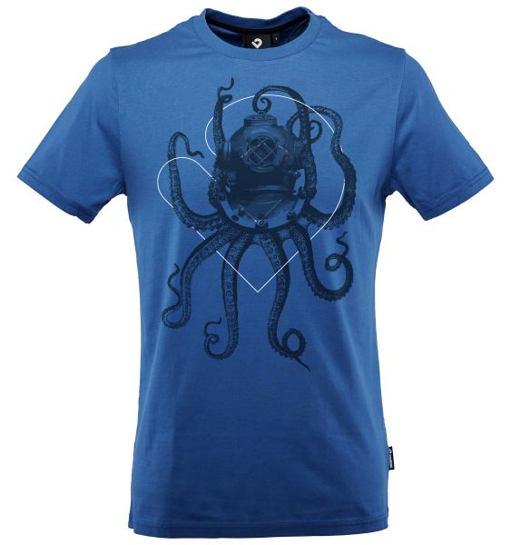 Nautical Octopus T-Shirt Herren